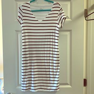 Short sleeve striped dress from Target!